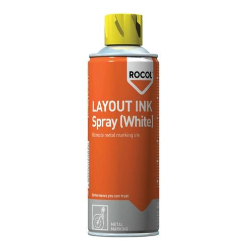 Rocol Layout Ink Spray-white 400ml