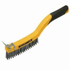 Roughneck Stainless Steel Wire Brush Soft-gri