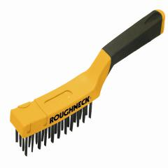 Roughneck Carbon Steel Wire Brush 300mm(12in)