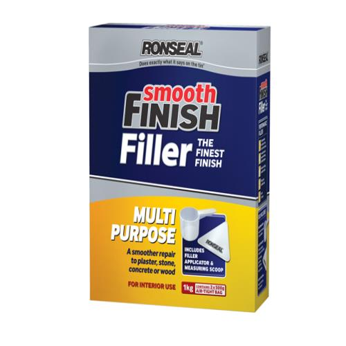 Ronseal Multi Purpose Wall Powder Filler 1kg
