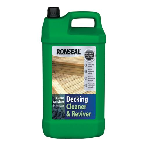 Ronseal Decking Cleaner 5 Litre