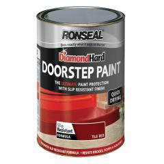 Ronseal Doorstep Paint Tile Red 750ml