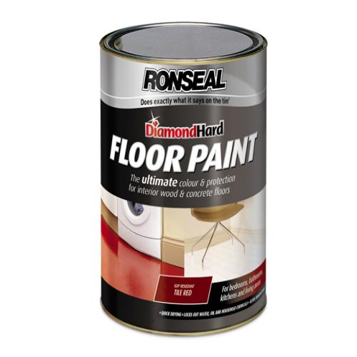 Ronseal Floor Paint Tile Red 5 Litre