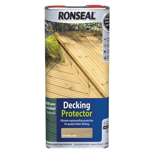 Ronseal Decking Protector Natural 5 Litre