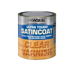 Ronseal Inside Clear Satincoat Varnish 250ml