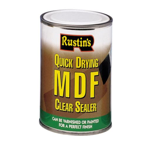 Rustins Quick Dry Mdf Sealer Clear 500ml