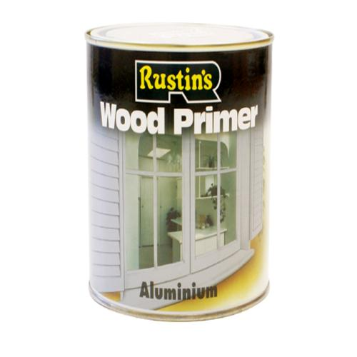Rustins Aluminium Wood Primer 500ml