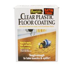 Rustins Plastic Floor Coating Kit Satin 4 Lit