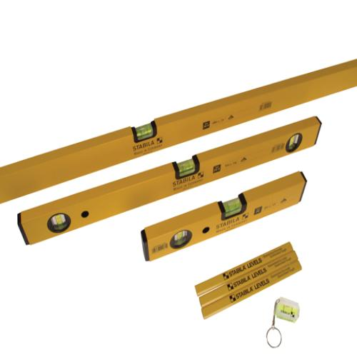 Stabila 70-2 Double Plumb Spirit Level Pack