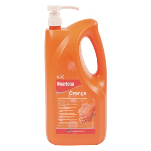 Swarfega Orange Hand Cleaner Pump Pack 4l