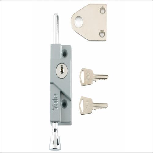 Yale 8k116 Door Bolt White Finish Visi London Power Tools